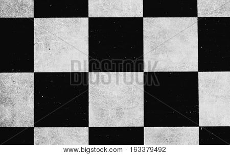 Old chess board retro vintage form square rhombus geometry