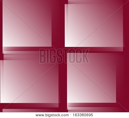 Abstract seamless background in burgundy, wine, red and white colors, sharp corners and rectangles, spots