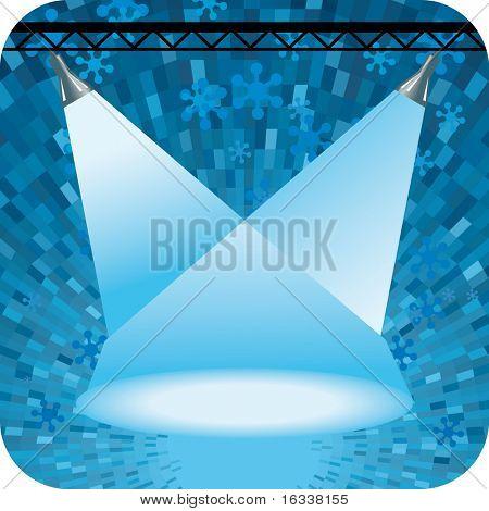 Vector blue projector