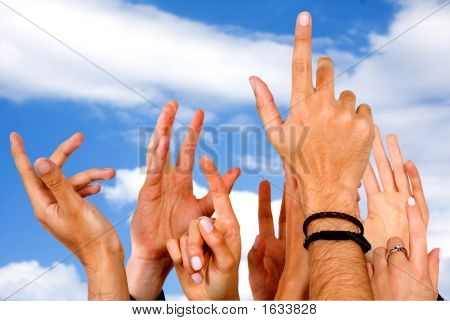Hands Of Participation