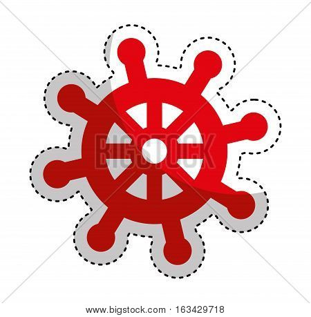 timon ship maritime icon vector illustration design