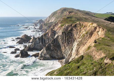 Chimney Rock, Point Reyes National Seashore, North California, USA
