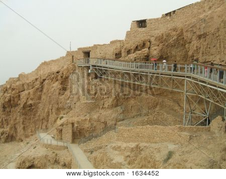 The Entrance Of King Herod'S Palace.