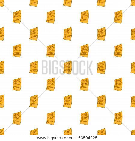 To do list pattern. Cartoon illustration of to do list vector pattern for web
