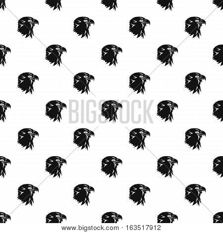 Eagle pattern. Simple illustration of eagle vector pattern for web