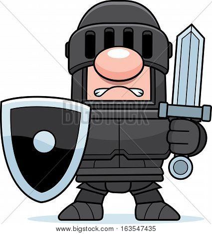 Cartoon Black Knight