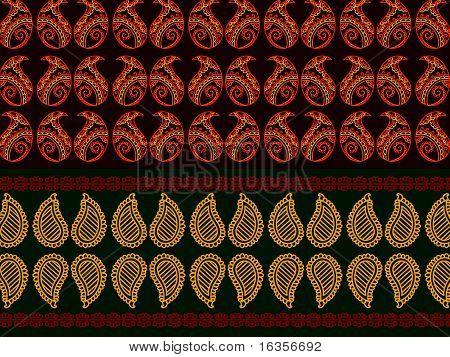 Henna borders