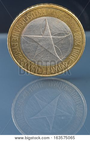 Rare Limited Edition Three 3 Euro Coin Issued By Slovenia