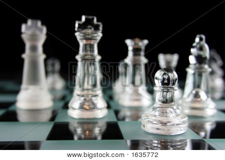 Chessgame - Focus On The Pawn
