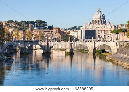 Rome And Vatican City Cityscape