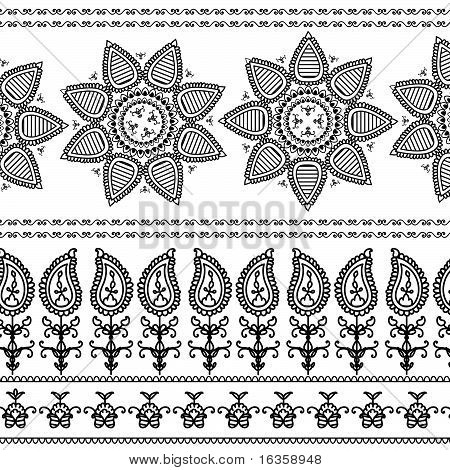 Henna Grenze Entwürfe