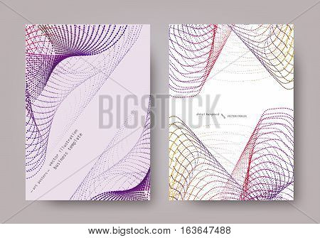 Set Geometric Abstract Background Universal Template Line-041.eps