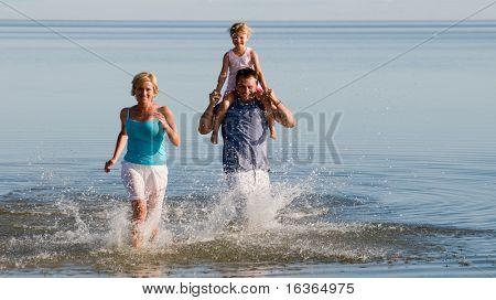 Family fun, sea and sun