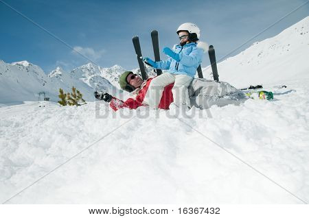 Ski, snow and fun