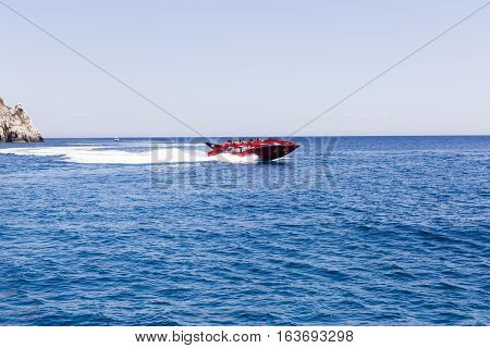 High-speed Boat Ride