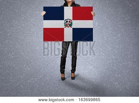 DOMINICAN REPUBLIC Flag Design and Presentation, DOMINICAN REPUBLIC Flag