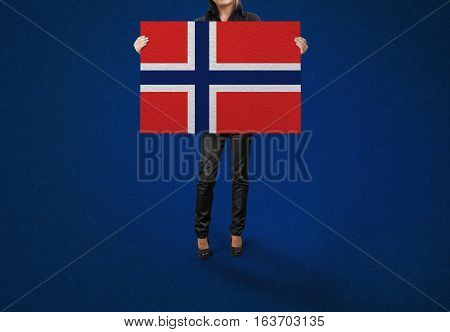 NORWAY Flag Design and Presentation, NORWAY Flag