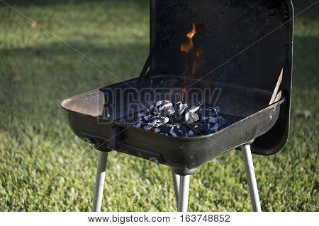 Charcoal Flaming