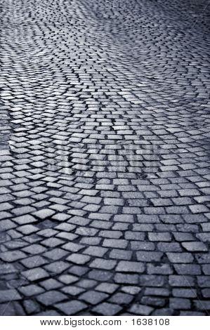 Blue Cobblestone Way