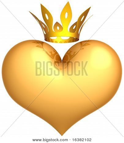 Golden heart of King.