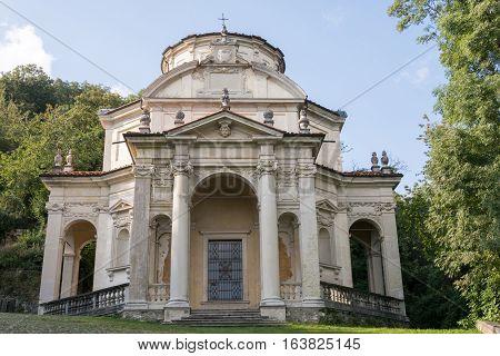 Fifth Chapel At Sacro Monte Di Varese. Italy