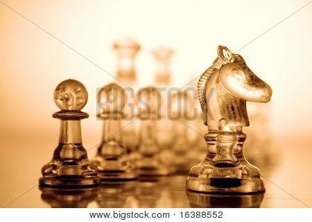 Transparent chess