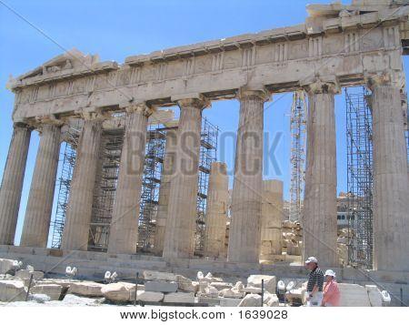 parthenon acropolis temple of athena