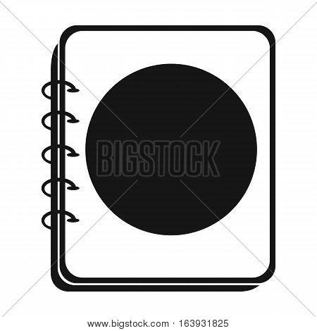 Menu of pub icon in black design isolated on white background. Pub symbol stock vector illustration.