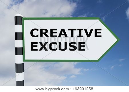 Creative Excuse Concept