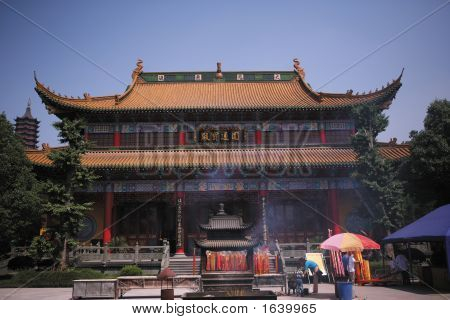 Colorful Asian Temple