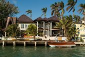 Mansion With Boat