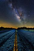 Постер, плакат: Milky Way Middle Of The Road