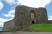 Entrance Keep To Carrickfergus Castle