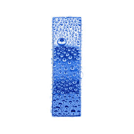 image of alphabet letters  - Blue ice alphabet symbol  - JPG
