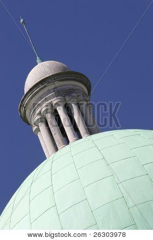 City hall spire, Hull, Uk