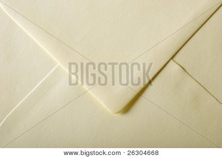 yellow envelope with textured paper