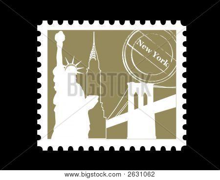 Stamp, New York