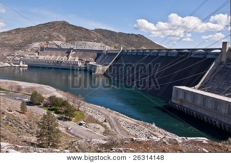 Grand Coulee Dam Landscape