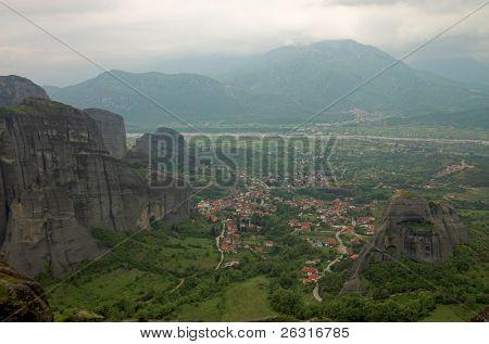 Kalambaka town, Meteora, Greece
