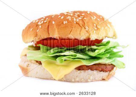 Big Juicy Classic Beef Burger