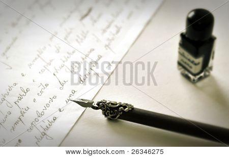 old fountain pen