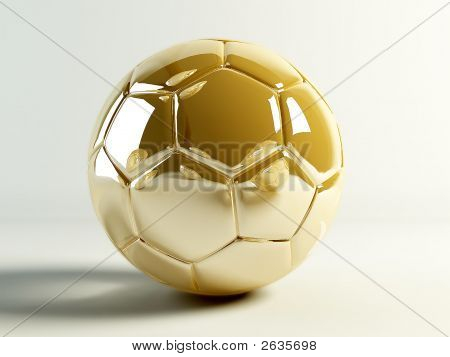 Golden Soccerball