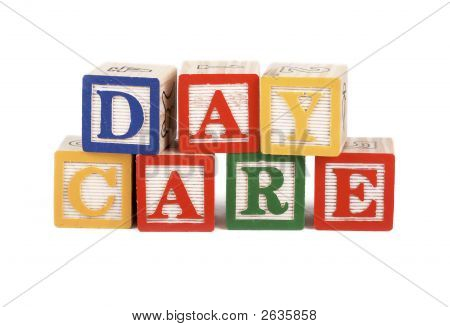 Daycare - Alphabet Blocks Isolated
