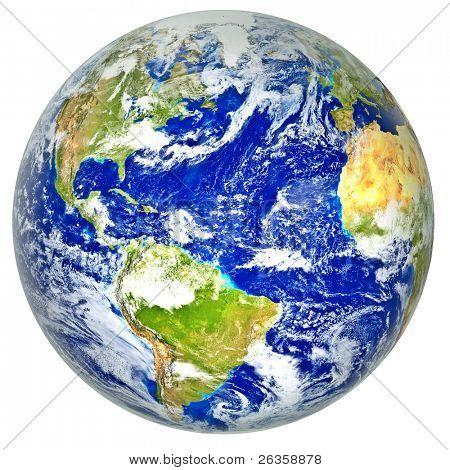 3d realistic Globe