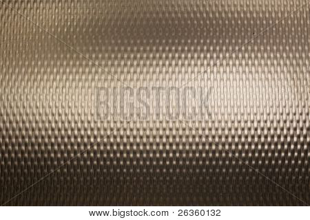 Textured metal with light reflection