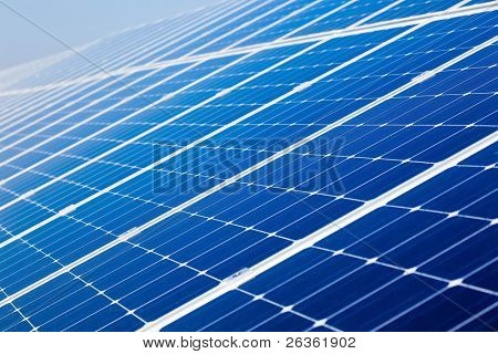 Photovoltaic solar power panel battery
