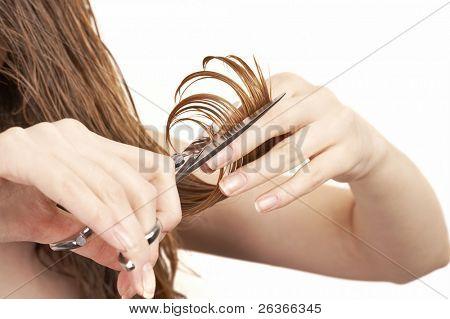 corte de pelo de la mujer