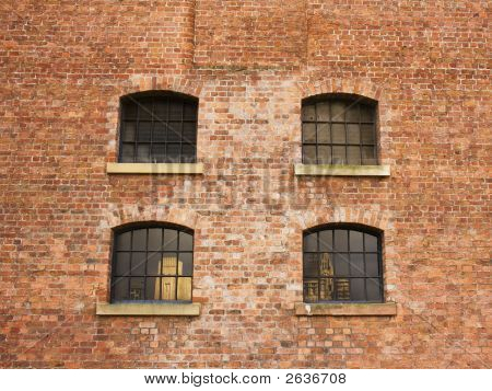 Group Of 4  Windows In Building Built In 1846