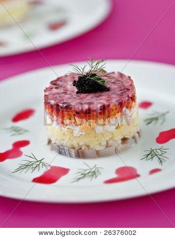 Gourmet Russian salad