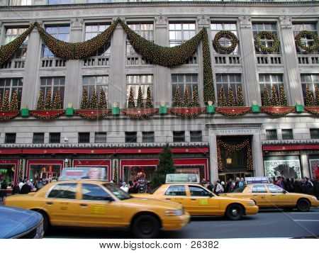 Saks At Christmas Time